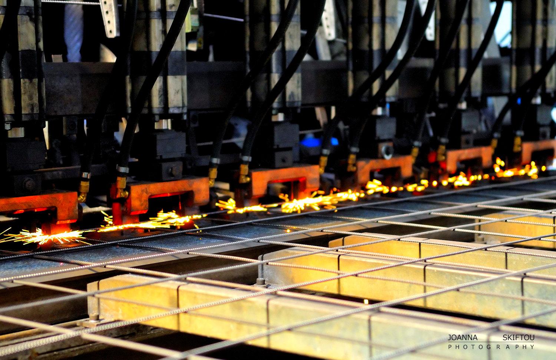 Βιομηχανική φωτογράφηση του εργοστασίου ΚΑΜΑΡΙΔΗΣ GLOBAL WIRE Α.Β.Ε.Ε.  απο την φωτογράφο Ιωάννα Σκυφτού